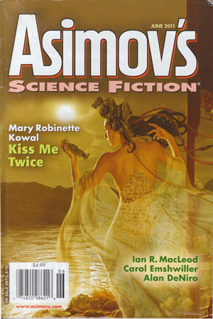 June 2011 Asimov's cover